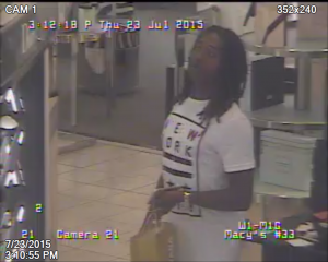July 23 robbery suspect