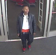 Suspect that used stolen credit cards