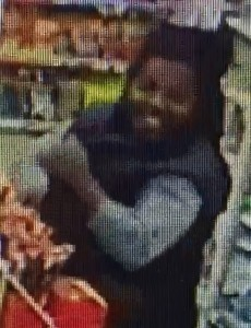 Suspect in theft from 7-Eleven