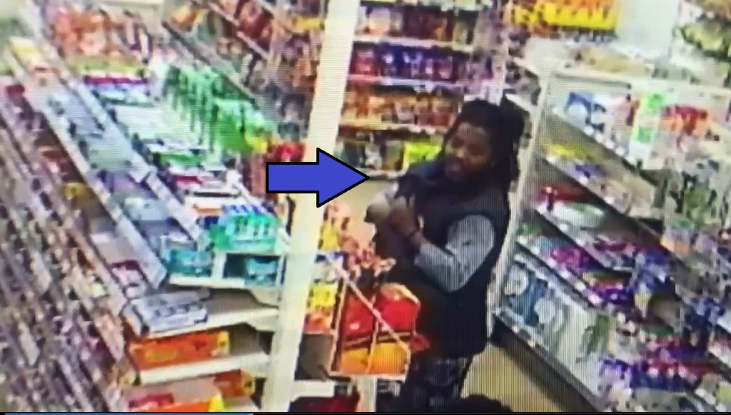 Video of suspect in theft from Germantown 7-Eleven