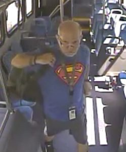 Suspect in Indecent Exposure on Ride On bus