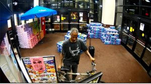 Suspect in Assault and Theft