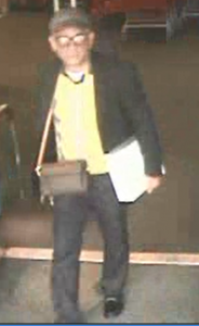 Credit Card Theft and Fraud Suspect on February 19