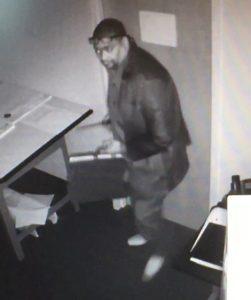 Suspect in Two Commercial Burglaries