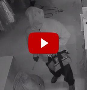 Surveillance Video of Suspect in Series of Commercial Burglaries