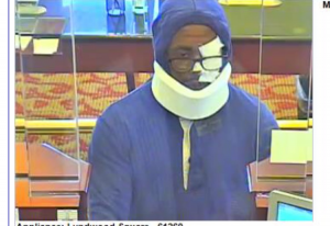 Suspect in Elkridge (Howard County) Capital One Bank robbery