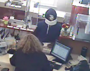 Sandy Spring bank robbery susupect