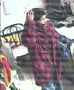 Suspect in two commercial burglaries in Silver Spring