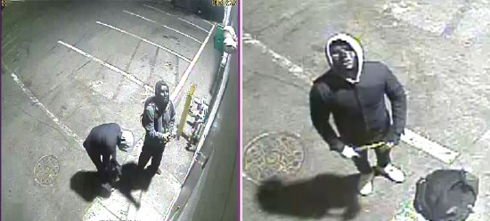 Suspects in Commercial Burglaries