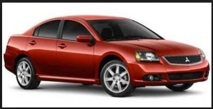 Red 2008 Galant