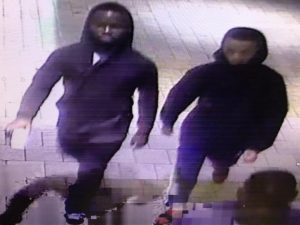 (from left to right) Suspect #3 and Suspect #2 in armed robbery