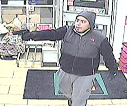 Surveillance Photo of Rothenberg Committing March 4 Robbery