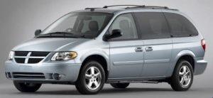 Silver 2005 Dodge Caravan