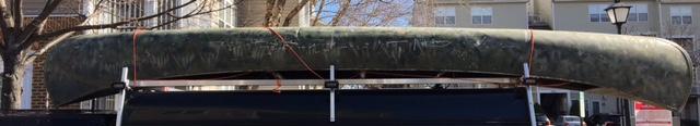 Empty Canoe Found on Potomac River