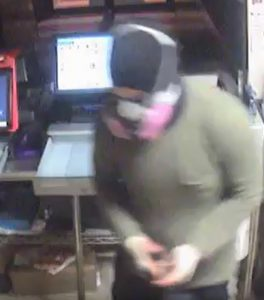 Suspect who committed a commercial burglary at a Jerry's Subs and Pizza in Burtonsville