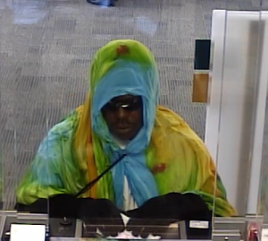 Suspect who committed an armed robbery at a Wheaton M&T Bank