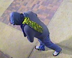 One of the Suspects Who Committed Commercial Burglary