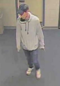 Suspect who committed a residential burglary in the Bethesda area.