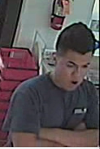 One of the four suspects who stole $30,000 worth of copper.