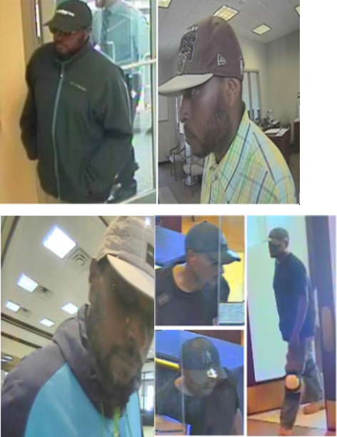 Suspect who committed two bank robberies and an attempted bank robbery
