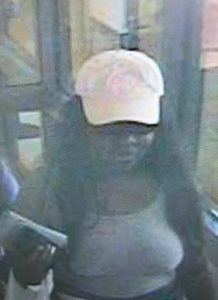 Suspect who used victim's stolen credit card following a residential burglary in North Potomac
