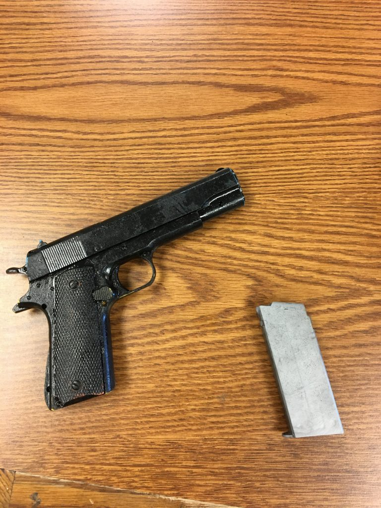 Replica Gun Found in Student's Possession