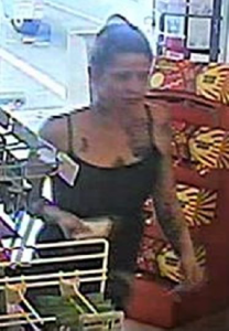 Suspect #3 who redeemed stolen Maryland Lottery tickets.
