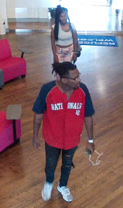 Suspects who committed a commercial burglary of the HIAS office in Silver Spring.