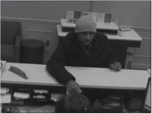 Suspect who robbed a Wells Fargo Bank located at 3852 International Drive.
