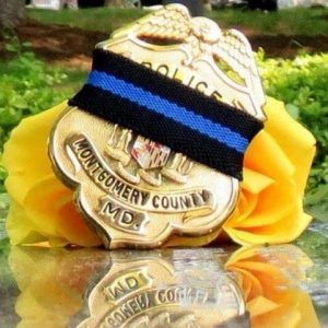 Montgomery County Police Mourning Badge