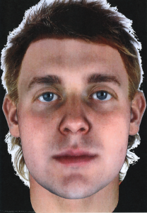 Parabon composite of suspect at 25 years of age.