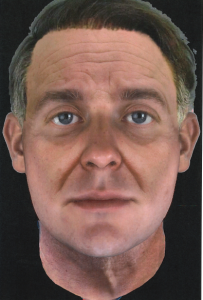 Parabon composite of suspect at ~60 years of age.