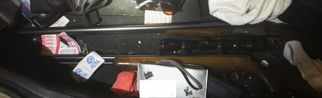 Recovered firearms