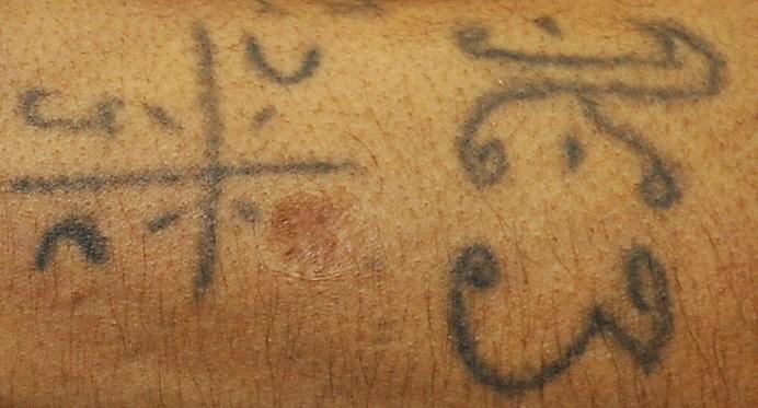 Tattoo on Left Lower Arm