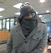 Suspect who robbed a Bank of America in Derwood