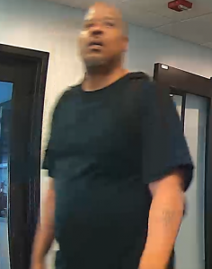 Suspect who committed a burglary at a Bethesda office building.