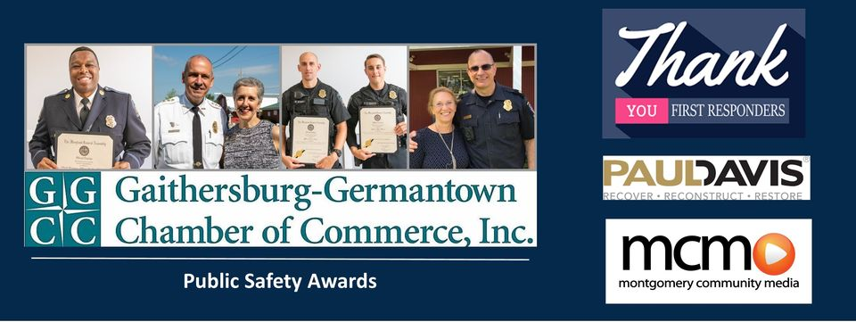 25th Annual Gaithersburg-Germantown Chamber of Commerce Public Safety Awards