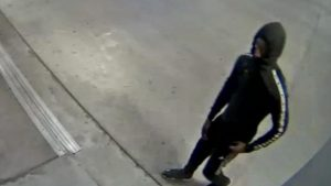 Suspect who committed a commercial burglary at the Target store in Bethesda