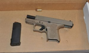 pic of P80 handgun