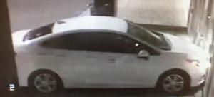 Suspect's vehicle