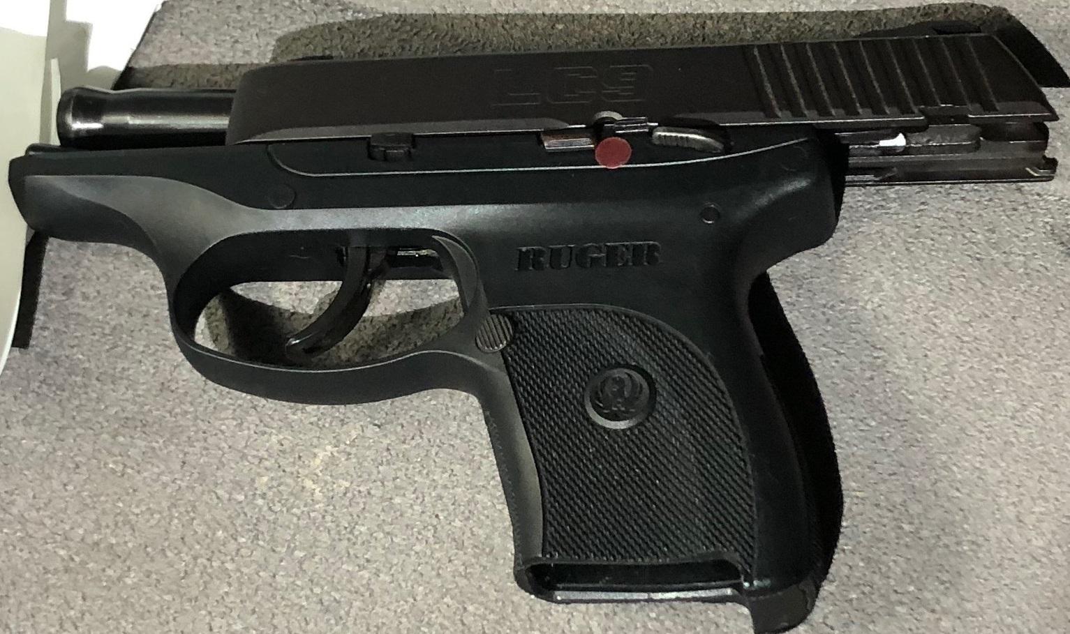 Recovered handgun