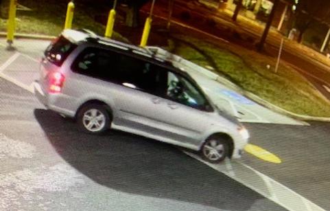 Suspect's Vehicle (Mazda MPV Minivan)