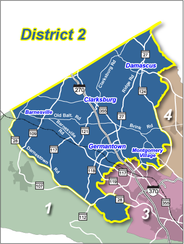 map of District 2