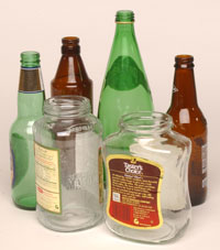 Glass bottles and jars how to recycle dispose - How to recycle glass bottles ...