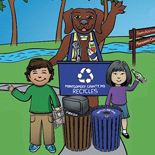 Childrens Recycling Game