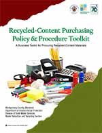 Image: Recycled-Content Purchasing Policy & Procedure Toolkit