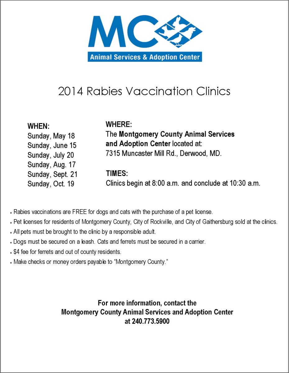 Vaccination Clinic Flier