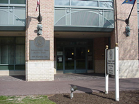 Back entrance to bcc service center