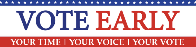 Voter Early Banner