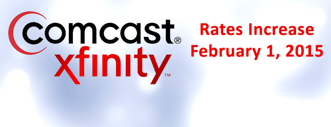 Comcast rate increase
